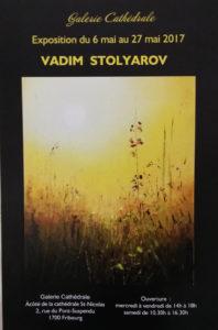 Vadim Stolyarov - du 6 au 27 mai 2017