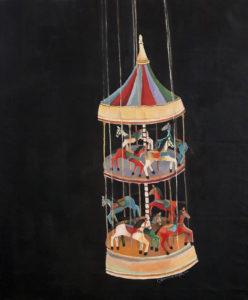 Gennaro Scarpetta-Carousel -135x110cm-acryl sur toile-Fr. 3'800.-