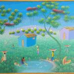 22. Isemorin, huile sur toile, 50x60cm-Fr. 350.-
