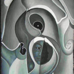 23. Charlot Odson,acrylique sur toile, 90x60cm, Fr. 900.-