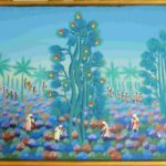 25. Angéla Félix, huile sur toile, 30x40cm, Fr.280.-
