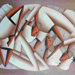 61. Casimir, huile sur toile, 50x60cm, Fr. 350.-