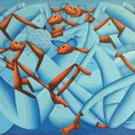 72-1. Casimir, huile sur toile, 80x100 cm, Fr. 800.-