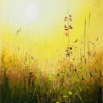 Vadim Stolyarov-Gold of the peaceful sky-huile-70x46cm-Fr.700.-