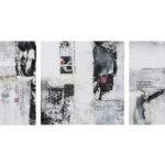 Xiaoyang-renaissance small-30x30cmx3-technique mixte sur toile-Fr.800.-