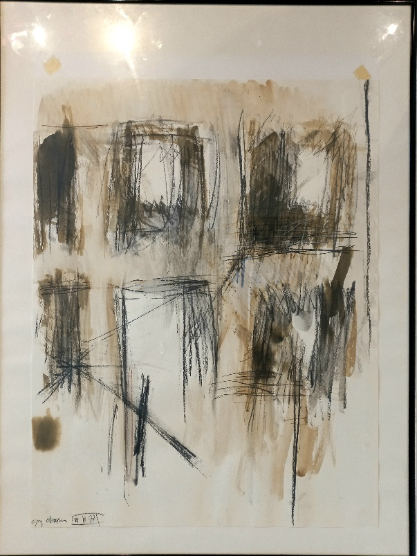 Guy Oberson (1960) Technique mixte 1997, 65 x 50 cm Fr. 700