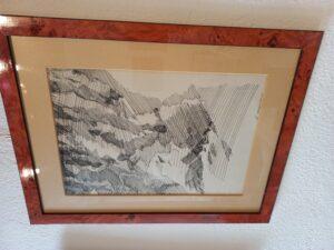 André Sugnaux (1944) Encre – 40x27.5 cm Estimation – Fr. 400