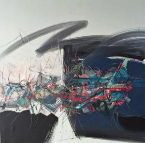 Daniel Rupp Acryl s/toile, 1990 90x90 cm Fr. 350